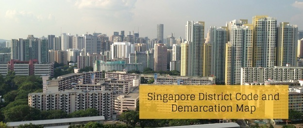 Singapore District Code And Demarcation
