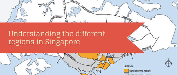 Understanding the different regions in Singapore