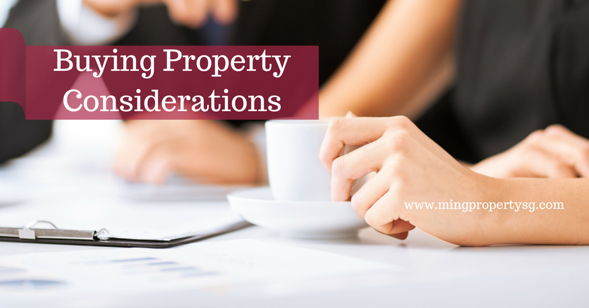 Buying Property Considerations FB