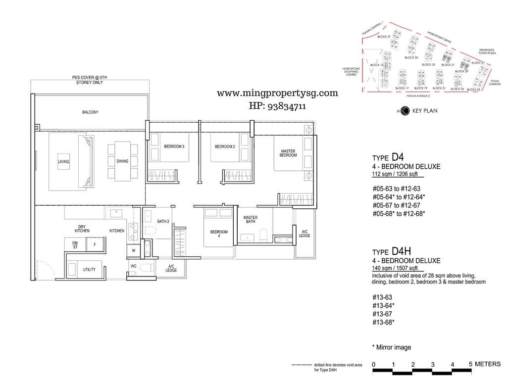 North Park Residences 5 Bedroom Floor Plan Thefloors Co