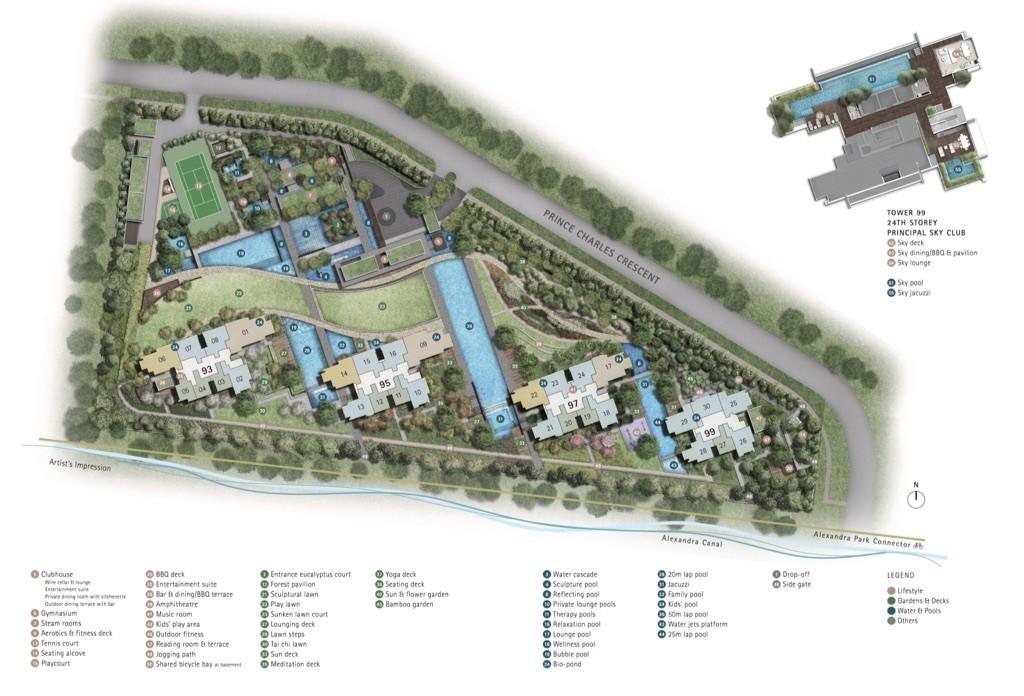 Principal Garden - Site Layout