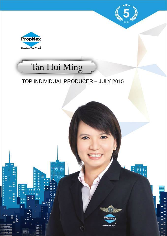 Hui Ming Propnex Star Performer Display Photo
