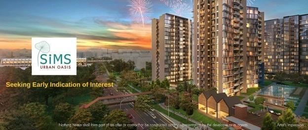Sims Urban Oasis Skyline