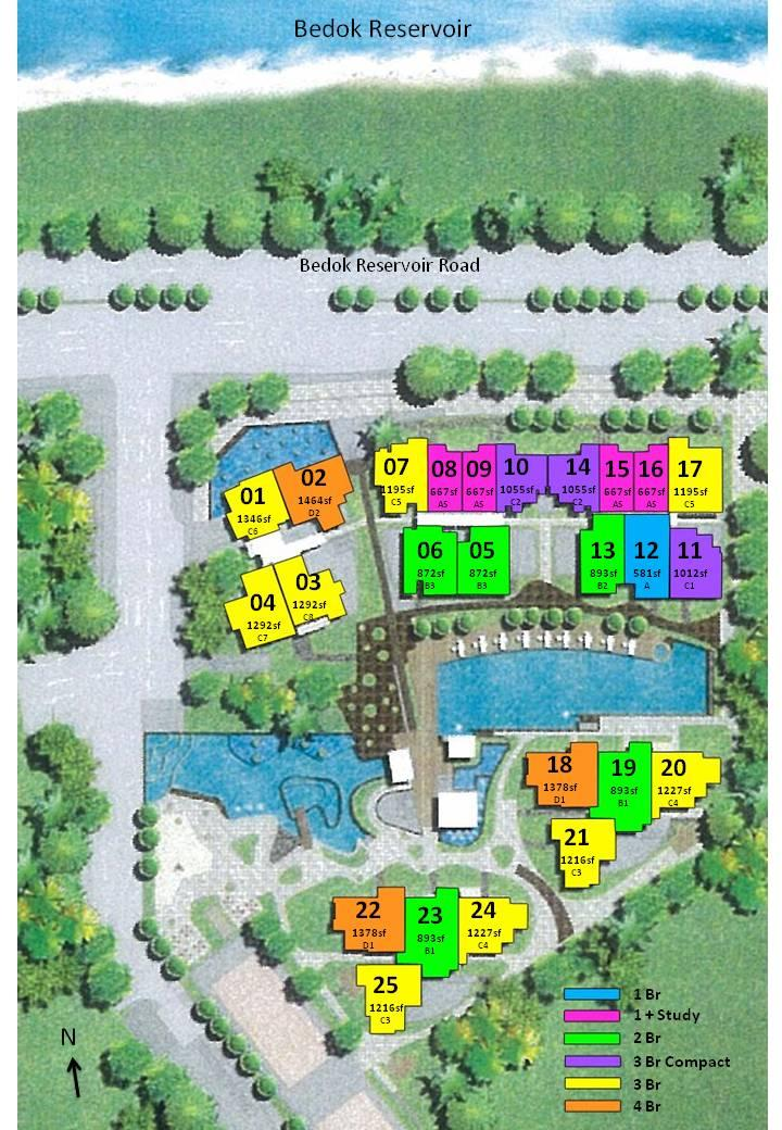 Waterfront Gold - Site Layout