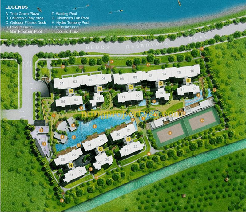 Waterfront Key - Site Layout