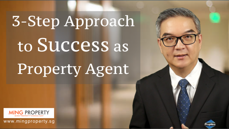 3-step approach to success - facebook, ming property, propnex, png