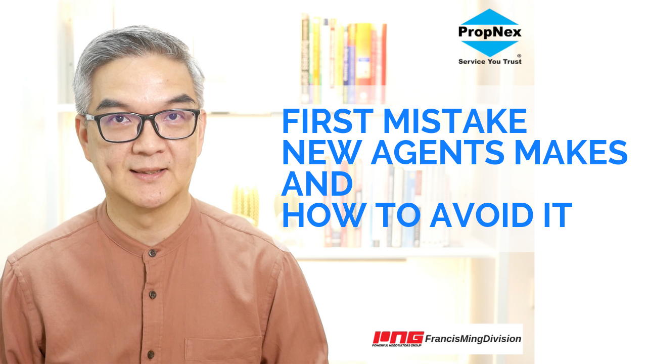 First mistake a brand new real estate salesperson makes and how to avoid it.