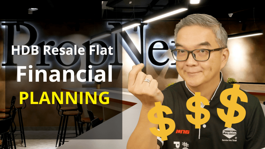 HDB Resale Flat - Financial Planning by Ming Property